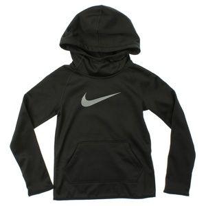 Nike Girls Therma Training Full-Zip Hoodie Black